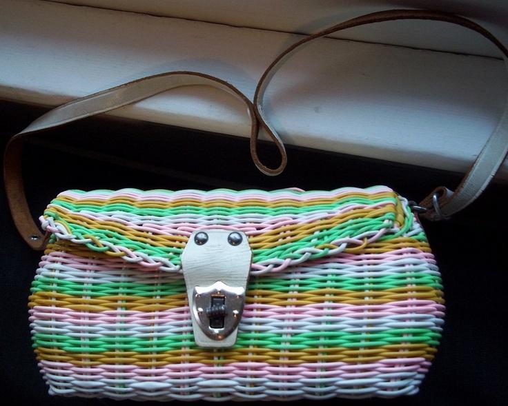 Vintage #Handbag-Mr. Jonas-1960's,1970's Purse-Faux... | Wicker   Blogwickerparadise.com