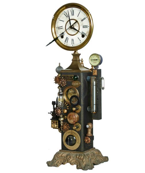 192 best images about steampunk clocks on pinterest