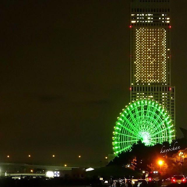 Instagram【kayo_chan123】さんの写真をピンしています。 《やはり 生憎の雨 * * 今週末までお天気悪そう〜 ぅう * * 観覧車のキラキラで * * 乗った気分癒されようッと * * Location : Osaka Japan * * #りんくう公園 #観覧車#夜景#lovers_nippon #ig_chiang_mai #icu_japan #team_jp_西 #noitenoinstagram #icu_nightlife #special_spot_ #ig_camera_united #picture_to_keep #art_of_nature #instaghesboro #ig_decision #4xnature》