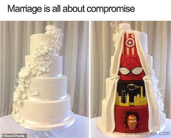 Hilarious photo gallery reveals what being married is really like – aj mckevitt