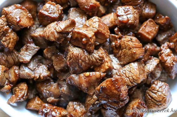 Ázsiai Steak Falatkák Marhahúsból ~~ egzotikusfűszerek.hu