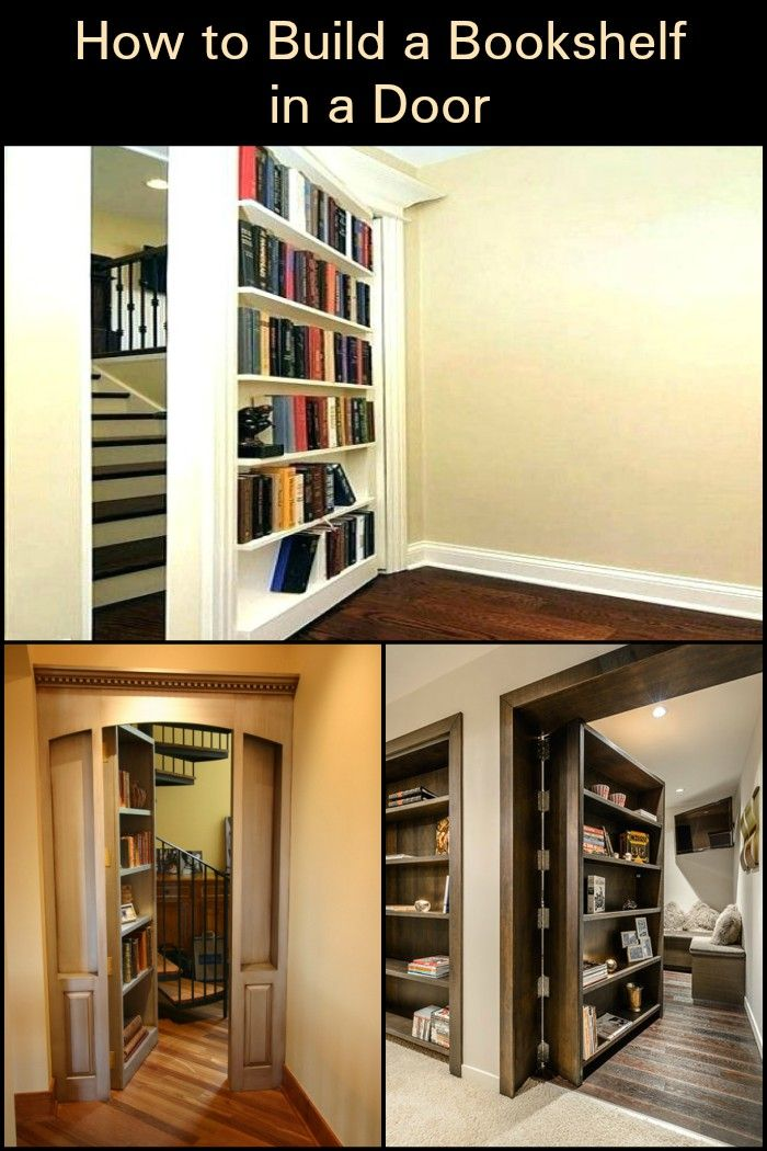 Create Extra Storage In Your Home By Turning A Door Into Set Of Shelves