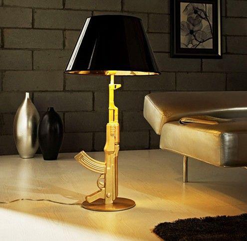 Golden Gun Lamp $1095