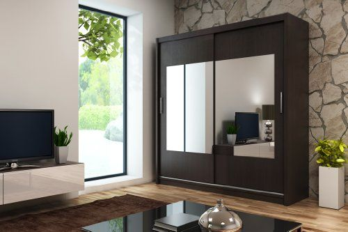 LUCCA 3 Stylish Bedroom Wardrobe Sliding Door