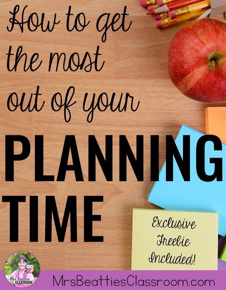 Your teacher planning time is short, and the list of tasks needing you attention is long. Check out these suggestions for making the most of your non-teaching planning time, and grab an exclusive free Planning Time Checklist to help you get organized toda