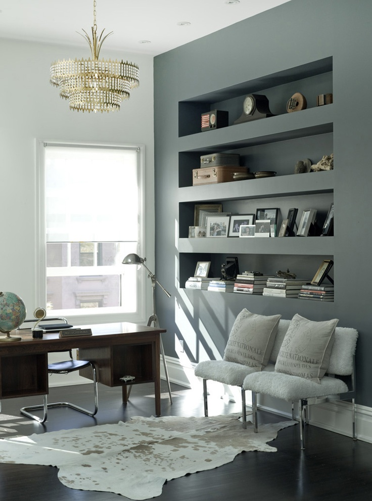 Study | Light Luxury | Brooklyn USA PHOTO  Robyn Lea | Est Living