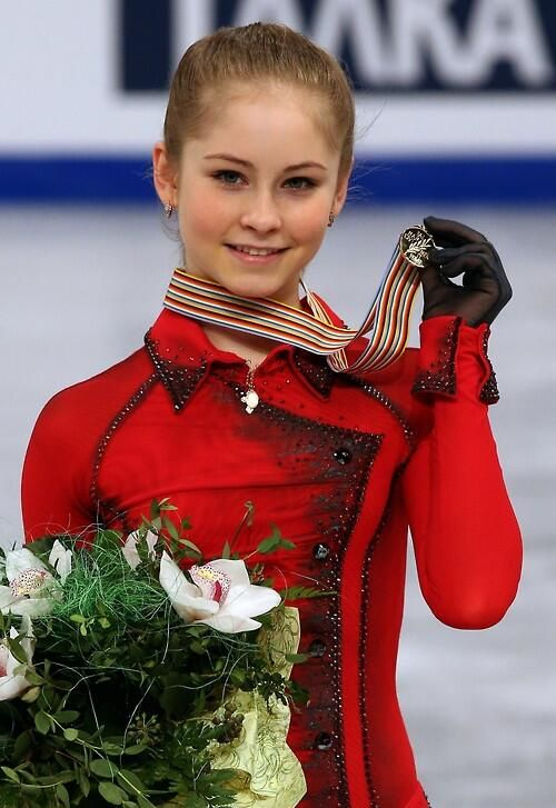 Yulia lipnitskaya - Gold medalist, Russian team competition. Definitely can't wait to see her in 2018!