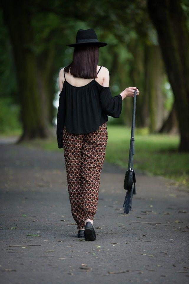 lillymarlenne.blogspot.com  #boho #womensfashion #festival #coldshoulder #hat