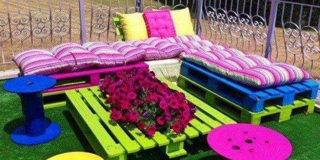 Bahçeniz için kendin yap tarzında dekorasyon fikirleri