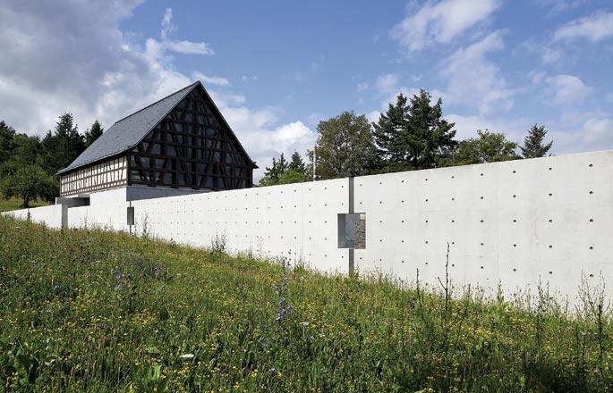 Museu da Escultura de Pedra Bad Münster am Stein-Ebernburg, Alemanha - 1996/2010 Tadao Ando