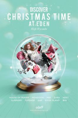 Turn Key: Eden Shopping Centre 'Discover Your Eden' Christmas 2013