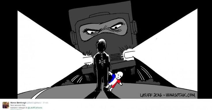Come già successo per i precedenti attentati in Francia, da quello alla redazione di Charlie Hebdo a quello che insanguinato il Bataclan e i