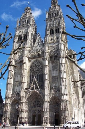 Cathédrale Saint-Gatien de Tours, France