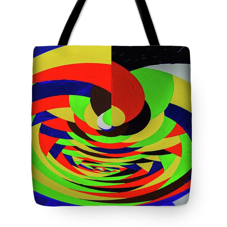 Bright Twisting Tote Bag featuring the drawing Bright Twisting by Svetlana Iso     Abstractionism style for modern stylish design, for all occasions, especially bright and festive  #SvetlanaIso #SvetlanaIsoFineArtPhotography #Photography #ArtForHome #InteriorDesign #FineArtPrints #Home #Gift #Color #Abstract  #Painting #Abstractionism