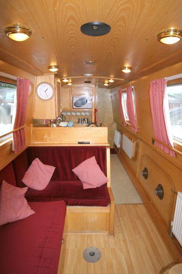 Boat interior...this wood