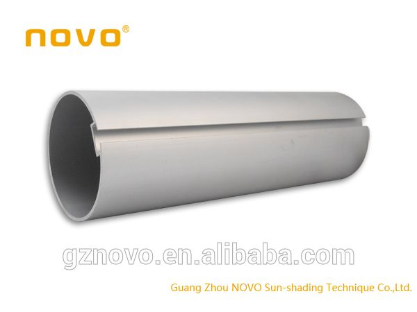 Look what I found Via Alibaba.com App: - NOVO thin wall aluminum tube with curtain rail bracket for spring roller blind parts