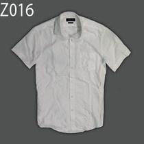 Áo sơmi nam tay ngắn hiệu Zara dạng body, trơn, áo có túi ở ngực mặc thích hợp cho giới văn phòng đi những dịp mang tính lịch sự.