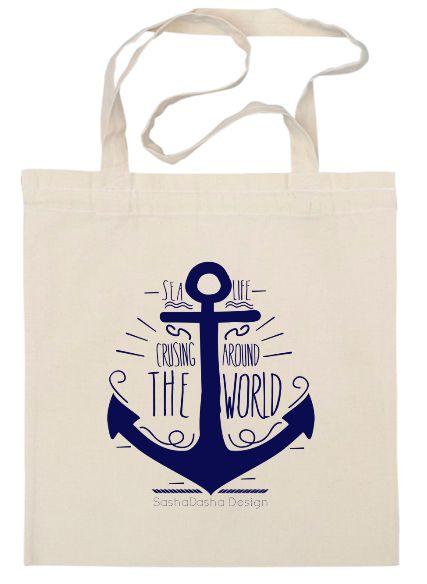 anchor bag www.sashadasha.com