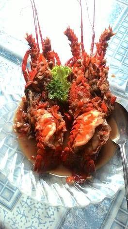 Resep lobster saus tiram mantab