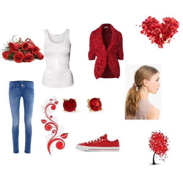 1000+ images about Valentines day outfits on Pinterest | Themed photo shoots Valentines and ...