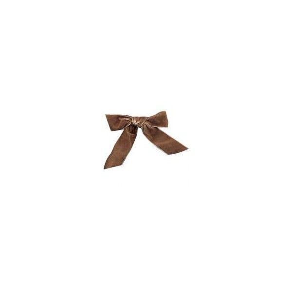 Truffle Velour 1.5 Ribbon - $6.00 : Bocage New York, New and vintage... ($6) ❤ liked on Polyvore