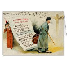 Nerve Specialist Advice to Change Lifestyle Greeting Card #funny #vintage #doctor