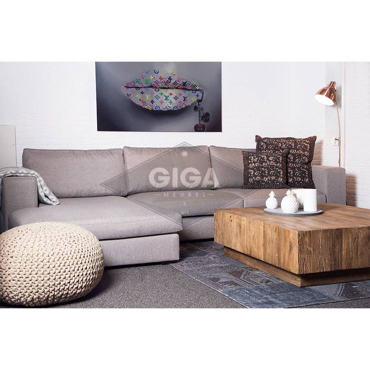 Hoekbanken in stof nu bij Giga meubel
