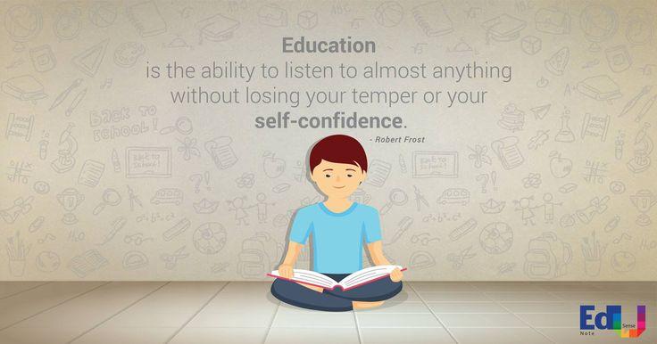 Self Confidence  #EdusenseNote