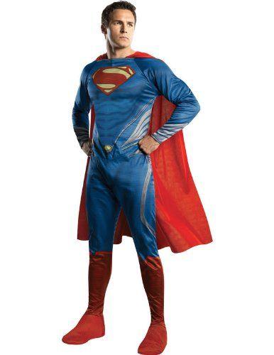 Man of Steel Superman Kostüm für Erwachsene Karneval