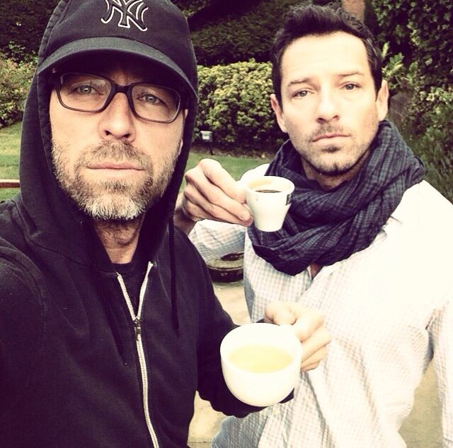 Teen Wolf ~ JR Bourne and Ian Bohen . . yes, I'd like a cup