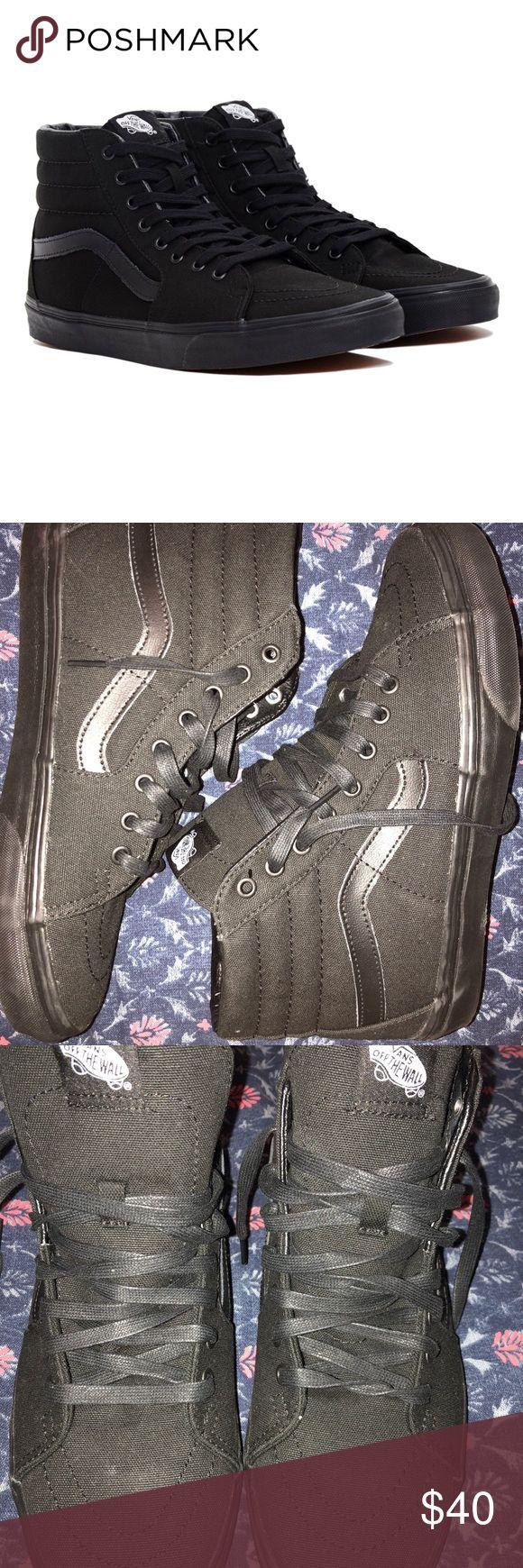 Vans high tops black men's 9.5 women's 11 New never worn vans Shoes Sneakers