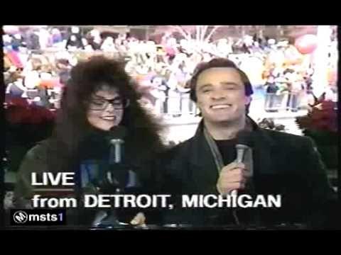CBS/WNEV Thanksgiving Day 1987 - Rebecca Schaeffer as news anchor