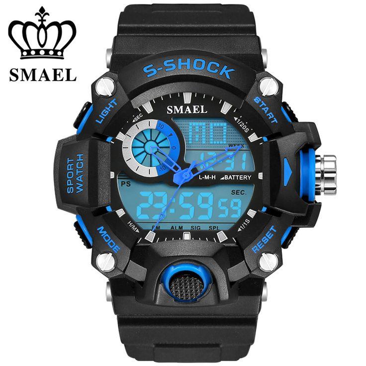 $26.89 (Buy here: https://alitems.com/g/1e8d114494ebda23ff8b16525dc3e8/?i=5&ulp=https%3A%2F%2Fwww.aliexpress.com%2Fitem%2FMilitary-Sport-Watches-Men-50M-G-reat-Waterproof-S-Shock-Sports-s-shock-digital-watch-relojes%2F32723733938.html ) Military Sport Watches Men 50M G reat Waterproof S Shock Sports s-shock digital-watch relojes deportivos relogio masculino saat for just $26.89