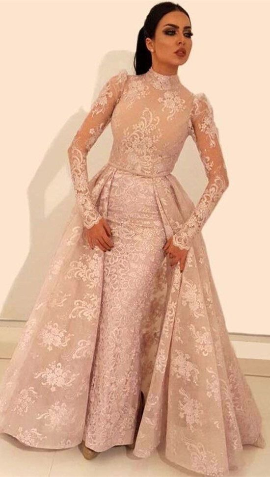Glamorous Long Sleeve Prom Dresses  5002911a2036