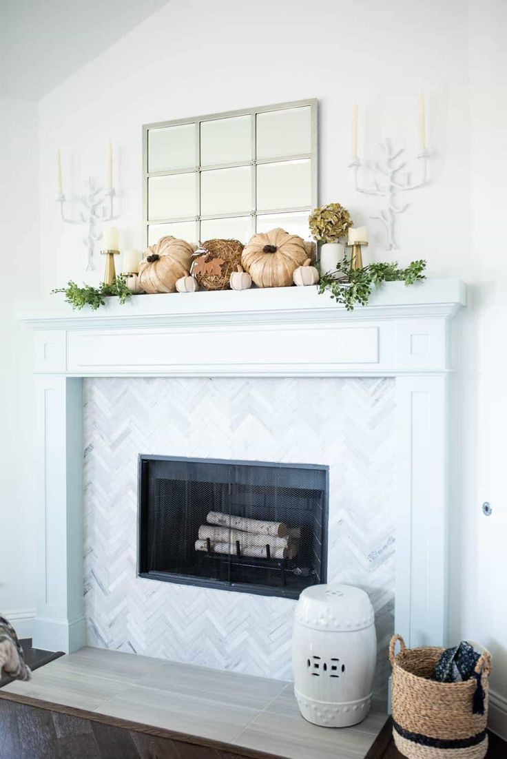 25 inspiring fall mantel decorating ideas holiday thanksgiving rh pinterest com