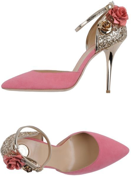 Elisabetta Franchi Pink Court  - so feminine. Actually shown in multiple colors.