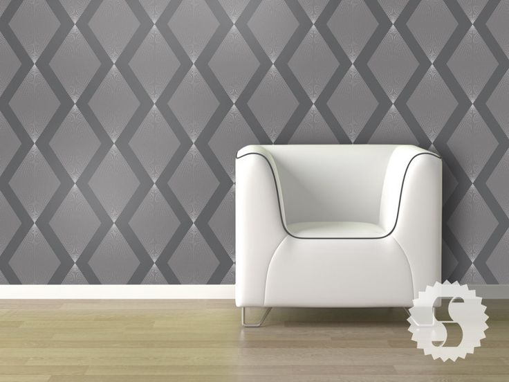 Triamonds - Removable wallpaper for renters ...