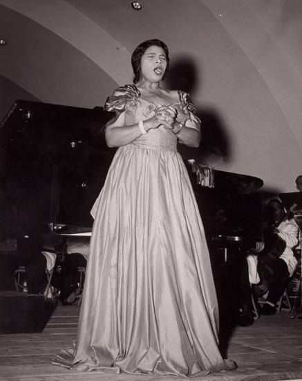 Marian Anderson. Date and photographer unknown