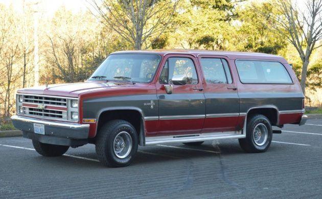 33k Mile Family Hauler 1985 Chevy Suburban Chevy Suburban Chevy Chevrolet Suburban