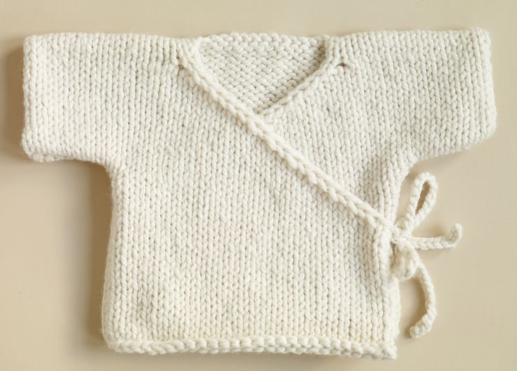 Knit Patterns For Babies : Free Knitting Patterns Babies Free Knitting Pattern 70352AD Baby Kimono : L...