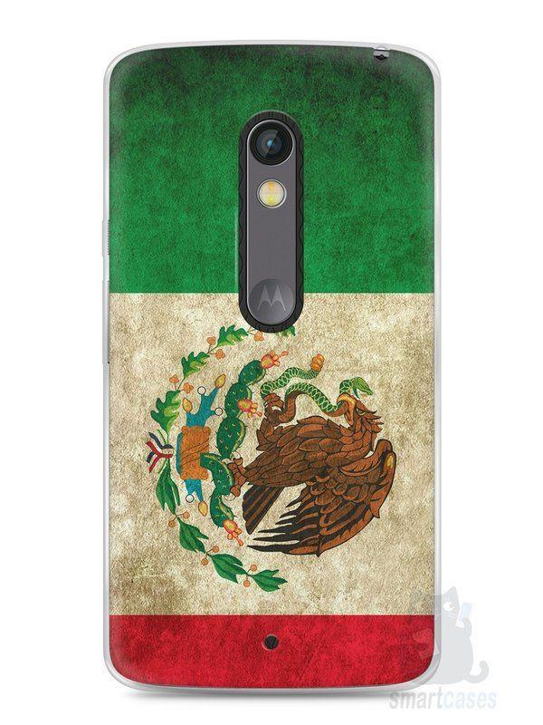 Capa Capinha Moto X Play Bandeira do México - SmartCases - Acessórios para celulares e tablets :)