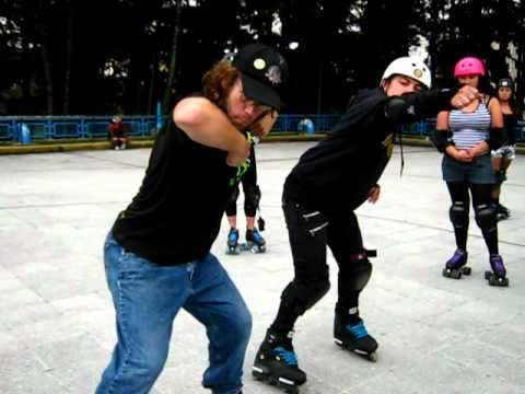Roller Derby Colombia, Bogota Bone Breakers. Video with Saul t. Scrapper