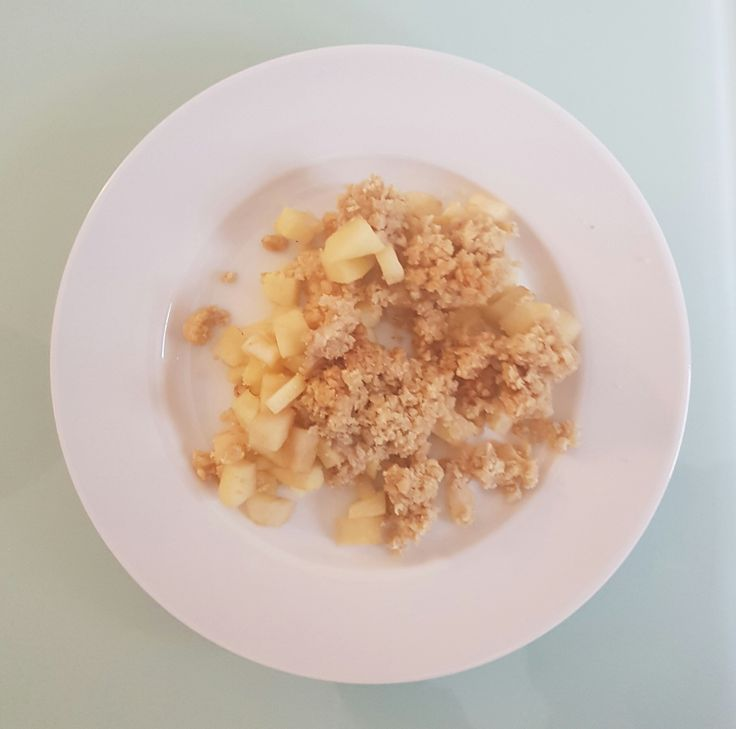 Süß-fruchtiges, knusprig-warmes Apple Crumble - Powered by @ultimaterecipe