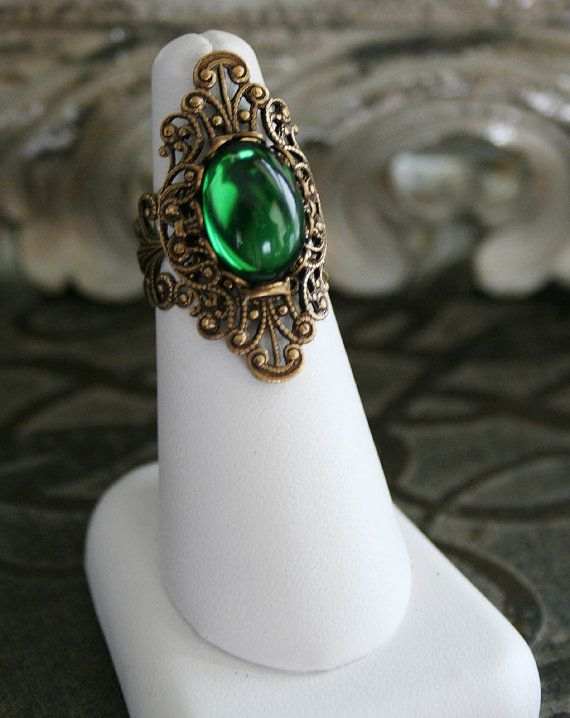 Absinthe victorian cocktail ring.  :)