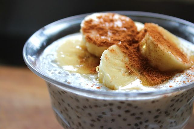 petite kitchen: creamy coconut chia seed breakfast pudding