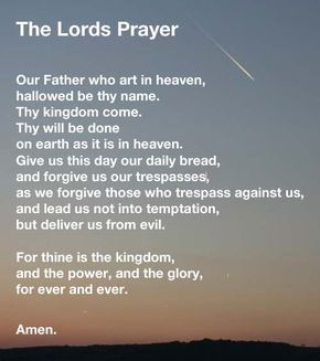 """The Lords Prayer is perhaps the most famous prayer in all of Christianity. Also known as the """"Our father prayer"""", it has be translated into many languages."""