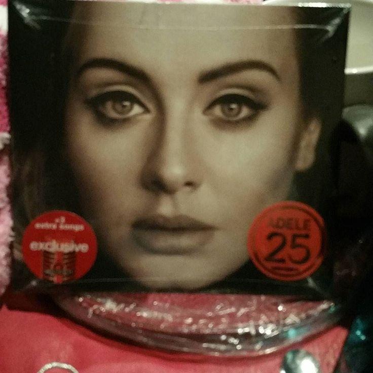 DAY26 #favoritegift Adele CD  #karmabloggers #photochallenge