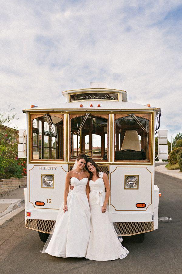 trolley for wedding transportation