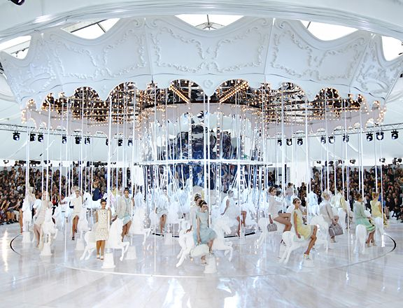 Louis Vuitton carousel ride