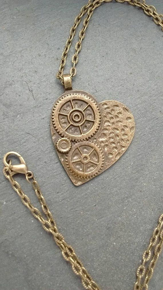 Hey, I found this really awesome Etsy listing at https://www.etsy.com/uk/listing/494439650/steampunk-heart-necklace-steampunk #heartnecklace #heartpendant #steampunknecklace #steampunkjewellery #steampunkheart